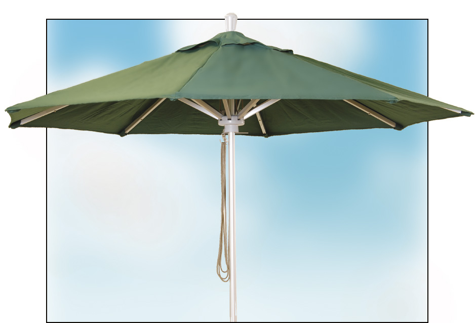9ft x 8 rib Commercial market Umbrella