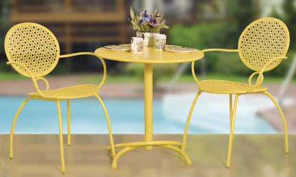 Summer Breeze 3 pcs. Bistro set