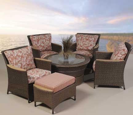 Tradewinds 5pcs Deep seating chat group